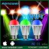 Цвет Changing СИД Lights WiFi Bulb с CE RoHS