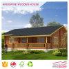 Casa prefabricada Kpl-014 del chalet de la playa del kit de la casa de madera de la cabina de madera de lujo popular