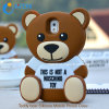 Teddybär für Handy Fall Samsung-/iPhone 3D Silicone