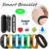 Bracelet intelligent avec le contrôle et le Bluetooth 4.0 de fréquence cardiaque