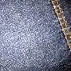 Commerce de gros mercerisé Tissu Tissu denim denim noir