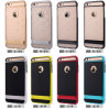 Shockproof híbrido Hard Bumper Soft Caso para iPhone6