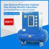 Tipo horizontal mistura de gases que proporciona caixa misturada da relação do gabinete/gás