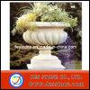 Potes de flor naturales de la piedra del jardín del granito hermoso