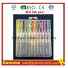 Schitter de Pen van de Inkt van het Gel in de Verpakking van de Plastic Doos