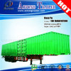 Tre semirimorchio degli assi 50ft Container Heavy-duty Van Type Cargo