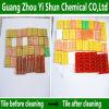 Los agentes de limpieza industrial Limpieza brillantes baldosas cerámicas mosaico de agente de limpieza de la luz iluminando Agent