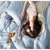 Reeks van het Blad van het Bed van het Hotel van China de In het groot Witte, het Blad van het Bed van het Hotel, de Reeks van het Beddegoed van het Hotel