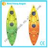 Kayak en plastique simple de pêche de canoë de bateaux de pêche de relais (M02)