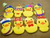 Niederländische Kunst-Gelb-Ente-Schlüsselring