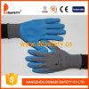 Ddsafety 2017 Orange floqué Latex gants de ménage
