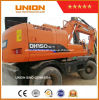Usado Doosan Escavadeira de rodas 150W-7 Usado Escavadeira de rodas