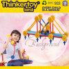 Kind-Plastiktischplattenspielzeug-intellektuelles Gebäude-Ziegelstein-Spielzeug