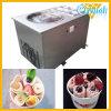 Fry Roll de la máquina de helados con pan plano