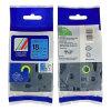 青い互換性のある兄弟のラベルテープで黒い18mm Tz541 Tze-541