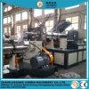 Paso dos 300kg/h PP PE reciclado agrícola de la máquina extrusora de peletización