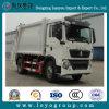 Sinotruk HOWO 4X2 6m3 압축 쓰레기 트럭