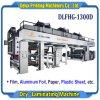 Macchina di laminazione asciutta automatica ad alta velocità per la pellicola, di alluminio, documento, plastica (DLFHG-1300D)