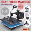 Nuova macchina multifunzionale della pressa di calore del pettine 2018 con la garanzia di due anni