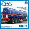 De Semi Aanhangwagen van uitstekende kwaliteit van de Tank van de Olie van het Roestvrij staal