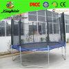 رخيصة مستديرة رياضة [ترمبولين] سرير مع شبكة