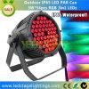 고품질 54*3W LED 동위는 세륨, RoHS 증명서를 가진 RGB Edison LEDs를 점화할 수 있다