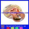 Mouse pad de PVC com descanso de punho elástico cheios de líquido