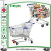 Trole asiático da compra do supermercado do estilo