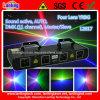 Luz a todo color principal del partido del laser cuatro