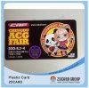 Caja de plástico transparente para tarjetas de juego / tarjeta de plástico de PVC cortar