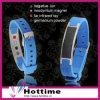 Wristbands del silicone di energia dello ione della fibra del carbonio di Hottime (CP-JS-DW-001)