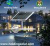 Lâmpada solar verde energy-saving do diodo emissor de luz com controle inteligente