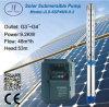 bomba de água solar centrífuga submergível de 916L 6in