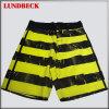 Shorts da praia dos homens com estilo da listra