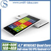 3G Dual SIM Mtk6582 Quad Core 1GB RAM Qhd IPS Ogs 4.7 Inch Phones (D5)