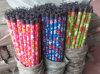 Цветок с покрынной PVC деревянной ручкой ручки веника
