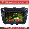 KIA Sorento 2013年のNewのためのA9 CPUを搭載するPure Android 4.4 Car DVD Playerのための車DVD Player Capacitive Touch Screen GPS Bluetooth Model (AD-7064)