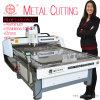 Fabrication du couteau de commande numérique par ordinateur de travail du bois d'argent facile avec le capot de la poussière