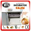 200의 계란 산업 자동적인 닭 계란 부화기 VA 176