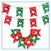Drapeaux de décoration de Noël Drapeau suspendu de Noël huit