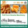 Puff de milho Snacks Máquinas de fabrico de alimentos