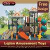 Terrain de jeux en plastique de plein air Swing & diapositive pour l'école (12033A)
