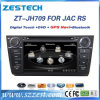 Sistema Wince6.0 coche reproductor multimedia para JAC J6/Heyue RS