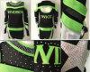 Vestito su ordinazione dalla parte superiore di acclamazione delle uniformi di Cheerleading di sublimazione dell'OEM