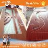 Portello di legno del PVC dell'interiore poco costoso con CIQ Soncap