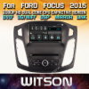 Tela de Toque do Windows Witson aluguer de DVD para o Ford Focus 2012 2015