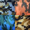 Het populaire, Wearable Leer van de Camouflage Pu Faux voor Kledingstuk