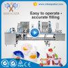 Máquina de embalagem de enchimento da selagem do Yogurt de 8 copos da água com Ce