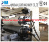 Máquina de la protuberancia de la hoja de la venda del borde del PVC