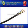 кабель освещения изоляции PVC 3*18AWG 22AWG заплетенный хлопко-бумажная тканью Twisted